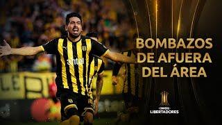 Top 10 | Los mejores GOLES DE AFUERA DEL ÁREA | Libertadores 2019