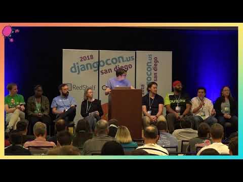 """DjangoCon US 2018 - """"State of Django"""" Panel by Simon Willison"""