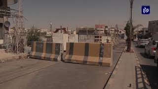 انهيار في جزء من الشارع الرئيسي في منطقة سحاب - (27-8-2017)