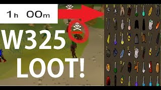 1 HOUR W325 Looting at the G.E. FREE MONEY? - Oldschool 2007 Runescape