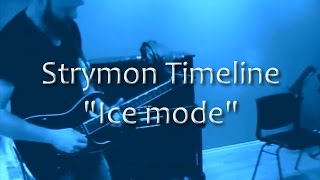 "Temet Nosce rehearsal - playing around with Strymon Timeline ""Ice mode"""