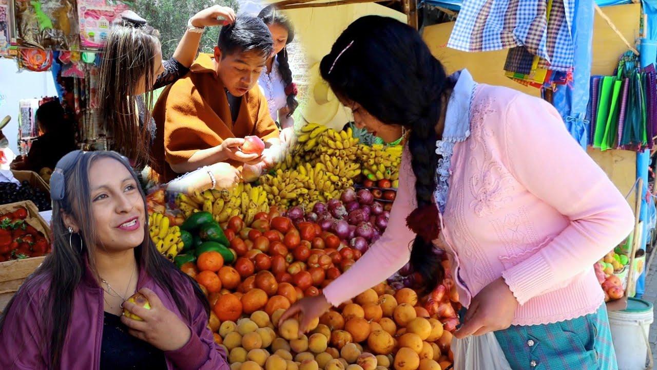 Cholito elige a la chica que mejor fruta le trajo pero le pasó ésto 😱