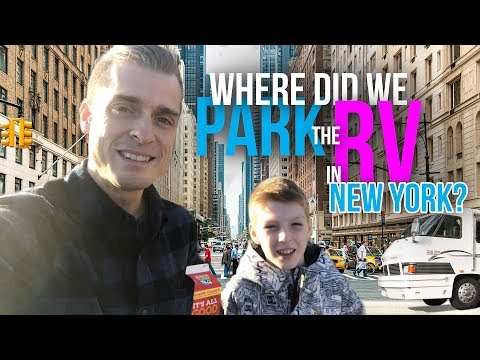 Tips on where to park your RV for traveling to New York City // A Family Travel Vlog
