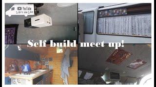 My van life! Project 2! Self build meet up!