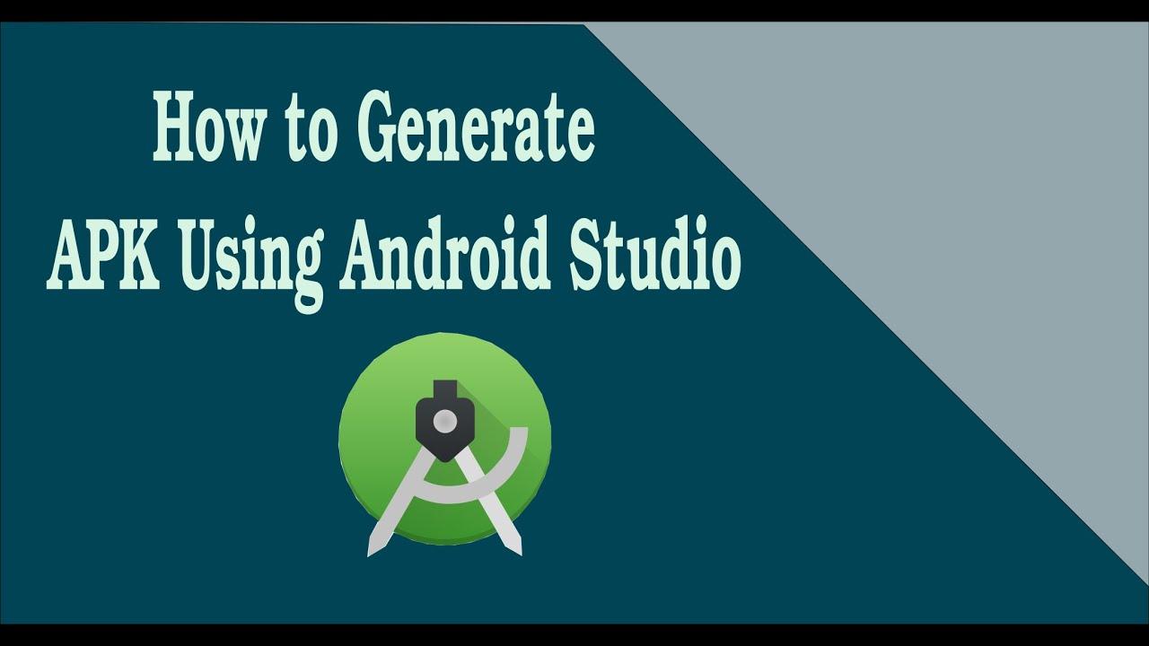 android studio cannot generate apk