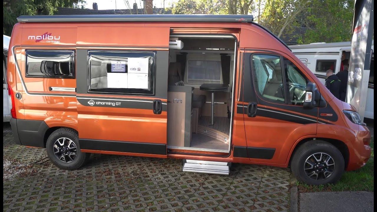 High-End Wohnmobil: Carthago Malibu 8 Van Charming GT 8 DB auf Fiat  Ducato 8. Carthago 8
