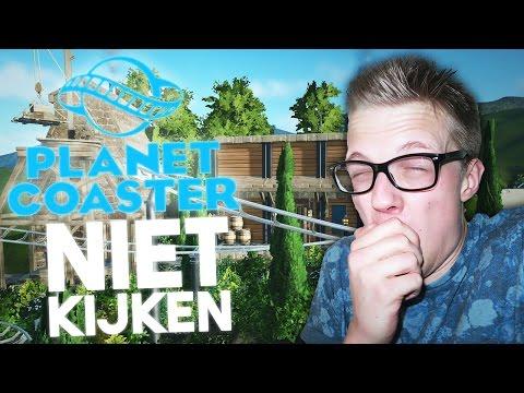 NIET KIJKEN MET EEN ZWAKKE MAAG! - Planet Coaster #6