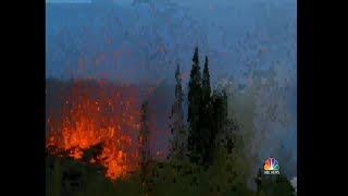 Officials Warn Largest Hawaii Volcano Eruption Is 'Imminent' _ NBC Nightly News LAVA 3