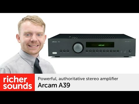 Arcam A39 - stereo amplifier | Richer Sounds