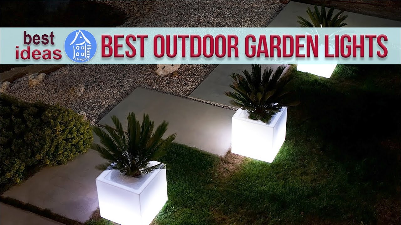 Beautiful Ideas For Outdoor Lighting Modern Garden Design
