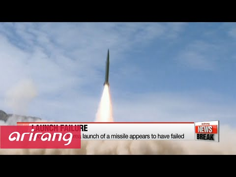 Thumbnail: N. Korea fails with missile launch attempt: S. Korea defense ministry