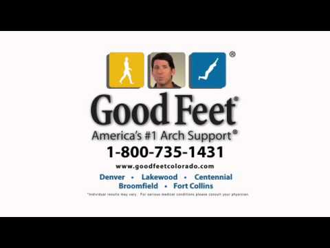 Denver Foot Pain Relief from Good Feet® #goodfeetreviews Customer Chef David