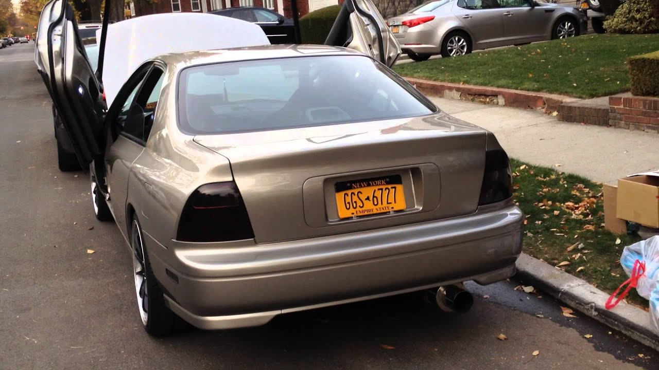 Custom 1995 Honda Accord Shaved Lambo Doors - YouTube