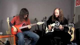 "Ron ""Bumblefoot"" Thal and Julien ""Beurks"" Bitoun jamming on Some Other Guy"