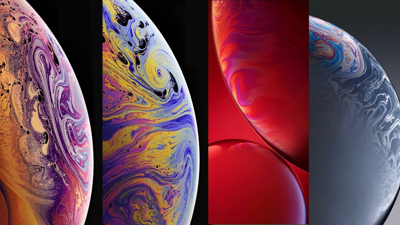 Iphone Xs Max And All New Iphone Wallpaper In 4k Download Link Youtube