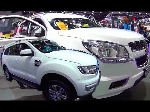 2015 2016 Ford Everest VS Chevrolet Trailblazer Ford Endeavour