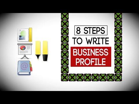 8 Steps to Write a Business Profile - Write Company PROFILE - YouTube