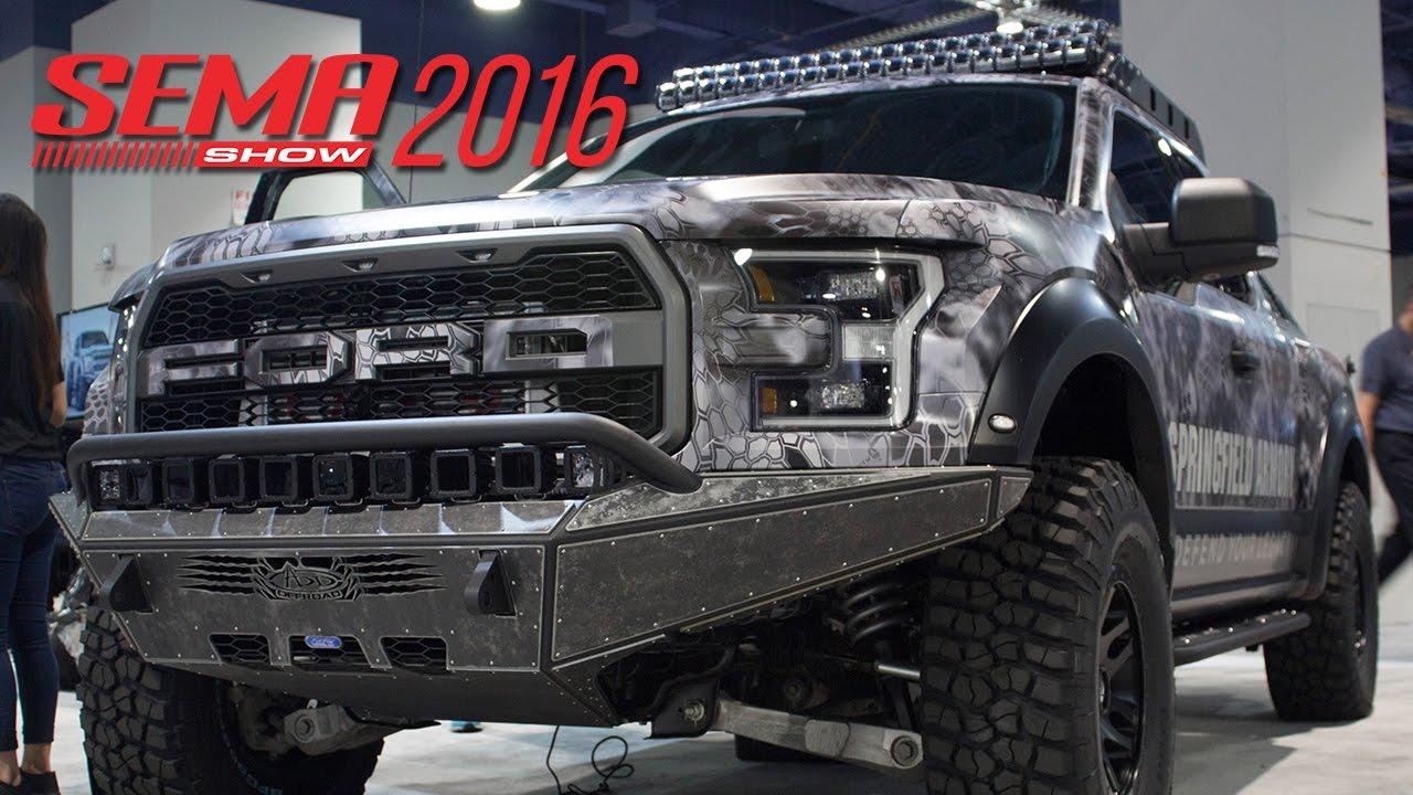 SEMA Show 2016 Recap - 2017 Ford Raptor, 2016 Nissan Titan ...