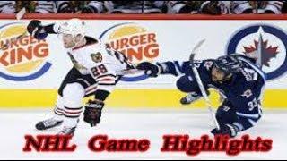 Winnipeg Jets vs Chicago Blackhawks - 11.12. NHL Highlights Season 2018-2019