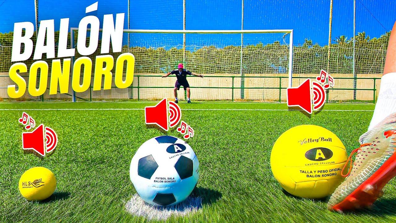 ⚽ ¡BALÓN para CIEGOS! 🙈 ¡Retos de Fútbol!