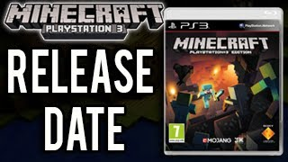 Minecraft PS3 - Disc Release Date! (Blu-Ray Minecraft Playstation 3 Edition)
