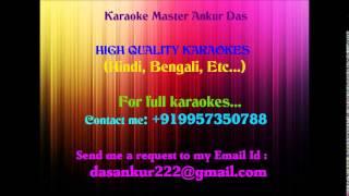 Aaj mere yaar ki shaadi hai Karaoke Aadmi Sadak ka By Ankur Das 09957350788