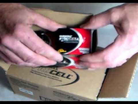 Duracell Procell PC1500 PCAA Alkaline Battery