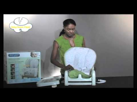 sc 1 st  YouTube & The first years infant to toddler reclining booster seat - YouTube