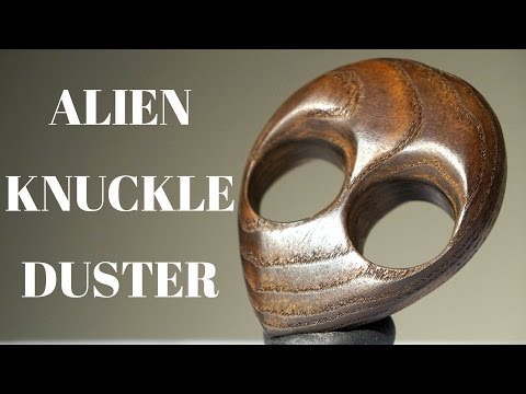 DIY wooden knuckle duster