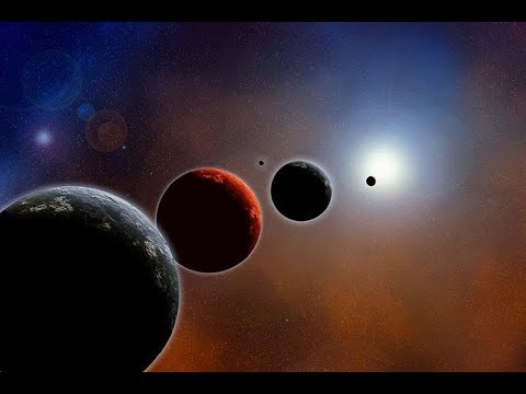 The outer planets of the solar system - Uranus, Neptune, Pluto. Mysterious ice giants. The Universe