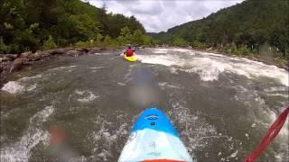 Upper Ocoee Kayaking