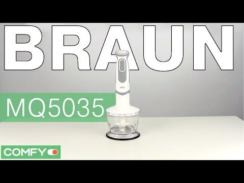 Braun MQ5035 - мощный блендер со стальными ножами - Видеодемонстрация от Comfy
