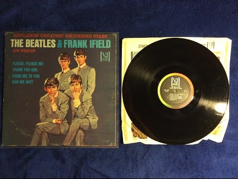 "Grail Update: ""The Beatles And Frank Ifield On Stage"" Mono Portrait Cover Authenic Copy"
