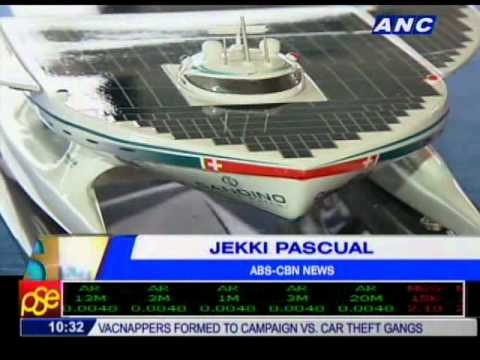 Solar Powered Yacht arrives in the Philippines