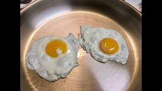Stainless Steel Non Stick Fried Eggs