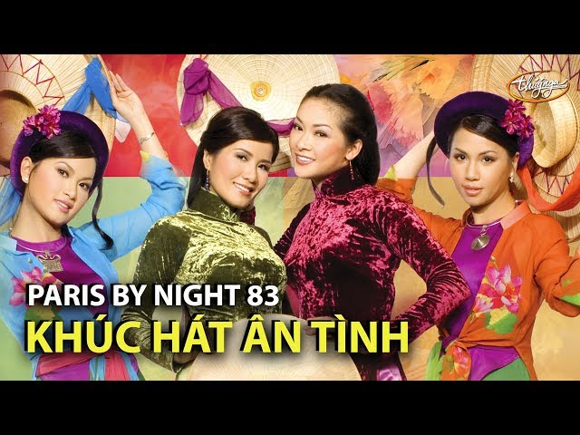 Như Quỳnh, Minh Tuyết, Hạ Vy, Hà Phương - Khúc Hát Ân Tình (Xuân Tiên, Song Hương) PBN 83