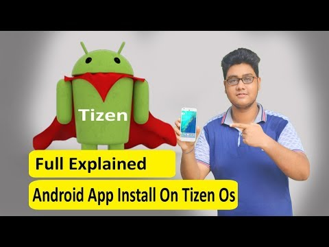 How To Install Android App On Tizen os Device 2017