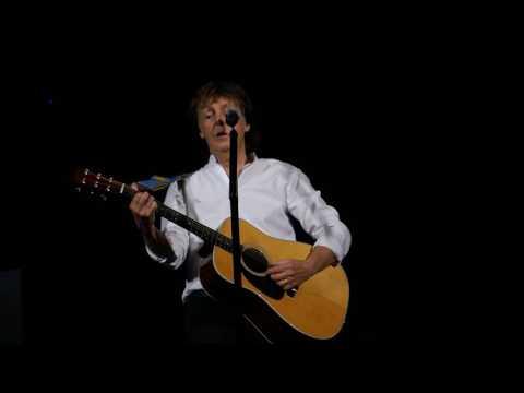 Paul McCartney - Here Today - Philadelphia 07-12-2016