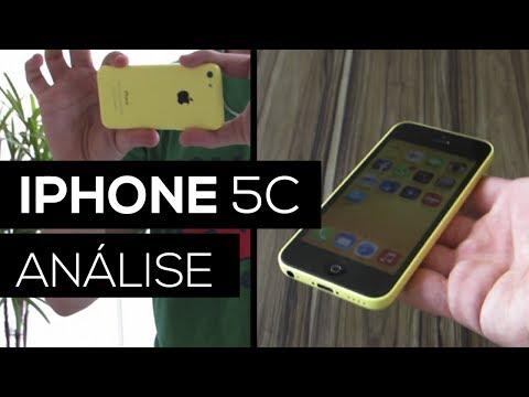 iPhone 5C (ANÁLISE EM PORTUGUÊS)