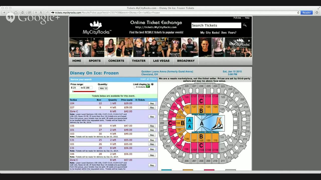 Seating charts quicken loans arena official website - Disney On Ice Frozen Tickets Cleveland Oh Quicken Loans Arena Gund Skating Live Songs Music