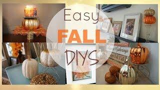 Fall DIY Decor| Dollar Tree DIYs| Megan Navarro| #FallDIYs