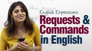 Requests  Commands in English - Useful English Expressions