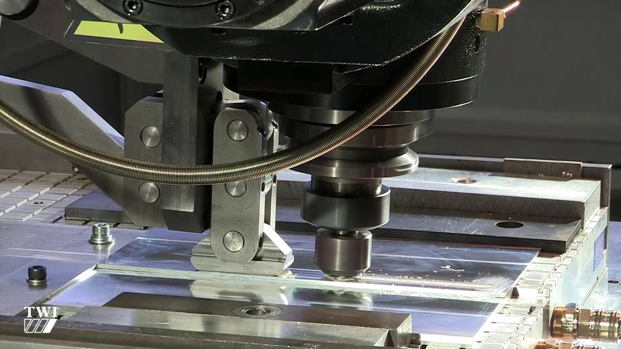Friction Stir Welding >> Friction stir welding of lapped AA7050 sheets - YouTube