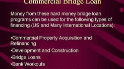 Commercial Bridge Loan Financing - New Low Rate Commercial Bridge Loans