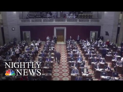 Missouri Lawmakers Pass Abortion Ban At 8 Weeks  NBC Nightly News