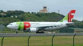 Lisbon International Airport Taking off  TAP Portugal (Aeroporto de Lisboa)