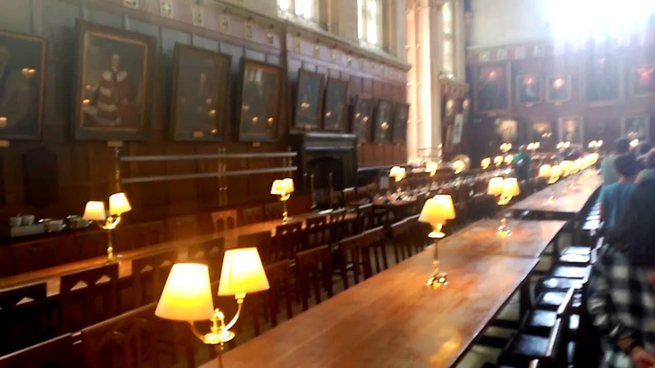 Christ Church College Oxford. Hogwarts Harry Potter