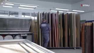 Как производят двери ТМ Страж. Видео №1(Продажа входных металлических и межкомнатных дверей http://ustanovim-dveri.kiev.ua Профессиональная установка дверей!..., 2015-07-07T08:21:11.000Z)