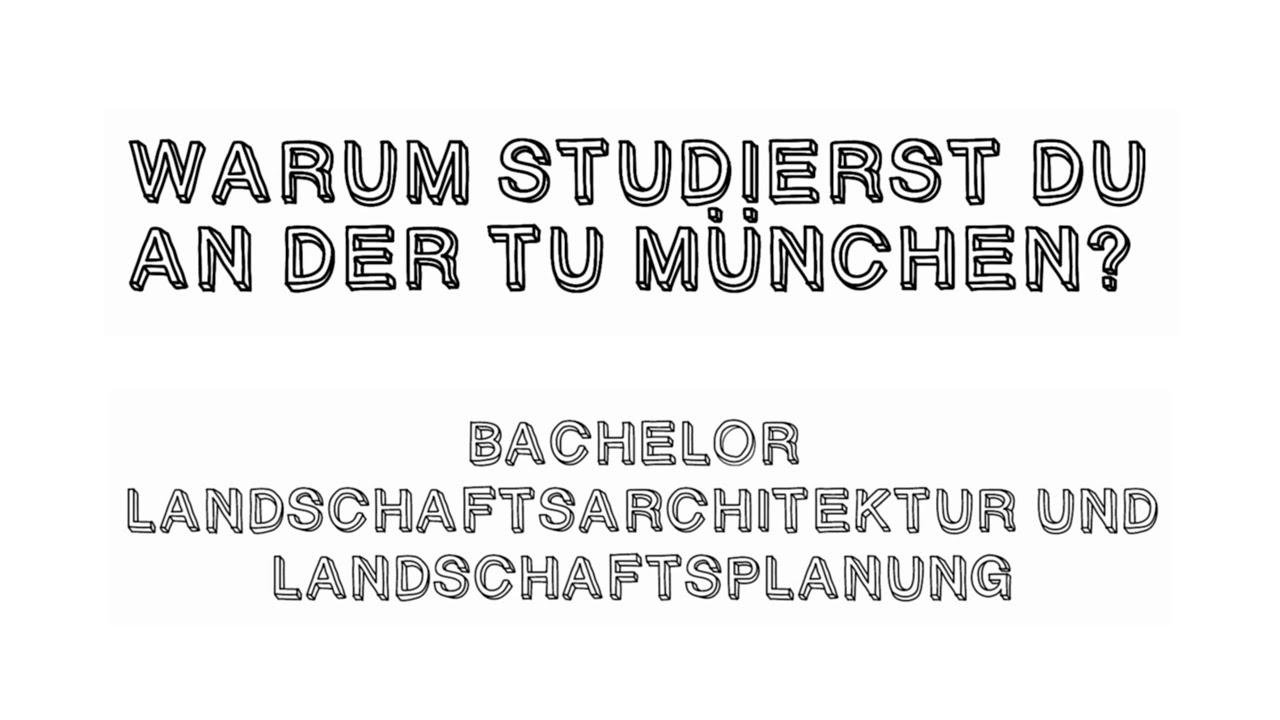 Landschaftsarchitektur München bachelorstudium landschaftsarchitektur und landschaftsplanung tum