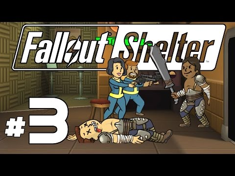 Fallout Shelter PC – Ep. 3 – Raiders in the Med Bay! – Let's Play Fallout Shelter PC Gameplay